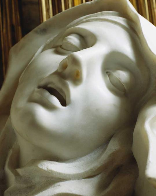 Bernini_Extasis de St Teresa_Detail