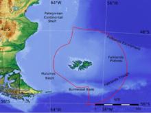 Malvinas,zona exclusiva