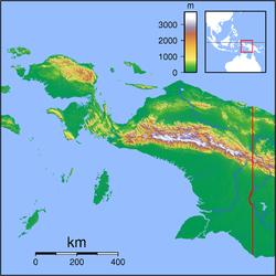 16. Mapa bahía Cenderawasih