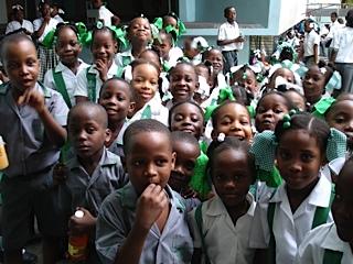 Haiti - Flor escuela