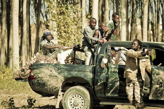 Foto niños soldado