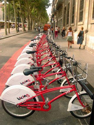 Sistema de alquiler de bici pública de Barcelona