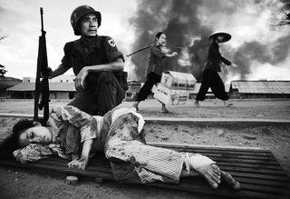 Batalla de Saigón, guerra de Vietnam. Philip Jones Griffiths