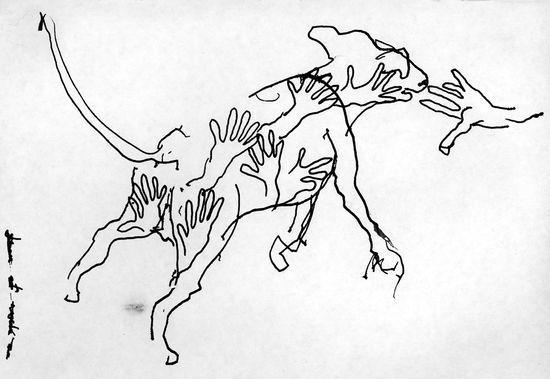 Dibujo de john berger