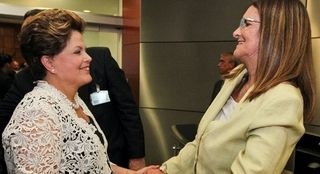 Dilma y Foster