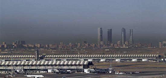 La contaminación sobre el cielo de Madrid. Carlos Rosillo