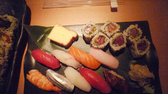 New ork enero 2011. Morimoto. Sushi