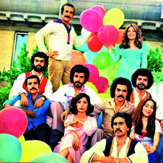 Fereidoon Farokhzad y la tropa de Ahange Rooz
