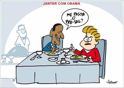 Vi~eta de Dilma y Obama