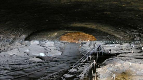 Caverna de Winderwerk en África del Sur