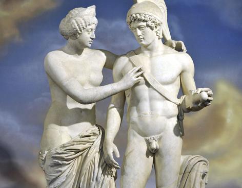 Venus-marte-estatua