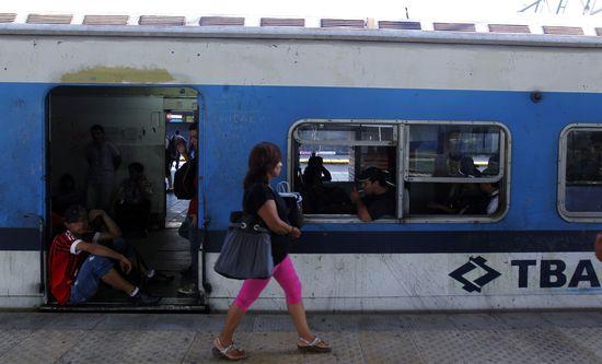 Tren de la compañía TBA, que sufrió un accidente hace dos meses en Buenos Aires / Reuters