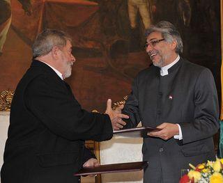 Lula y Fernando Lugo