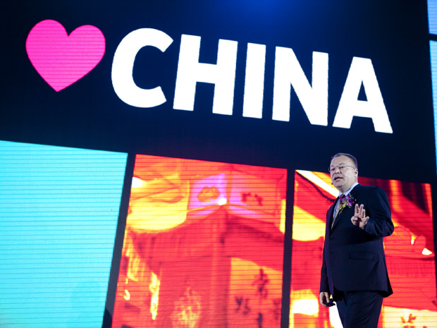 Stephen Elop_China