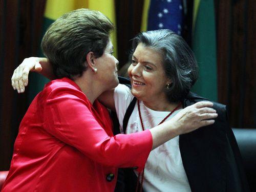 Carmen Lucia y Dilma