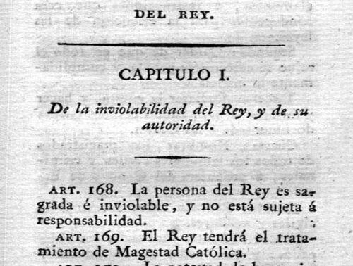Texto de Constitución de 1812