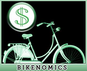 Bicicleta y economía. Gráfico de Bikenomics
