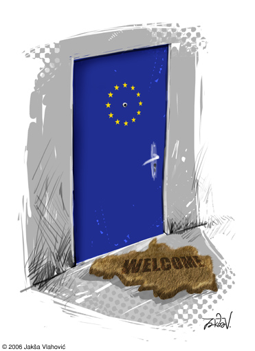Jaksa Vlahovic_Serbia entering in EU