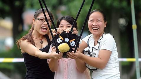 Parque de atracciones de Angry Birds (no oficial) en China