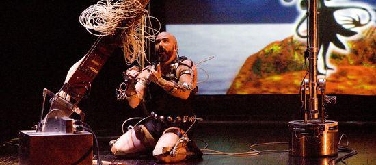 Performance Afasia de Marcel.lí Antúnez