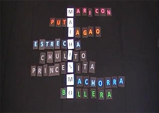 Imagen del vídeo contra la violencia machista de la Asociación de Hombres por la Igualdad de Género.
