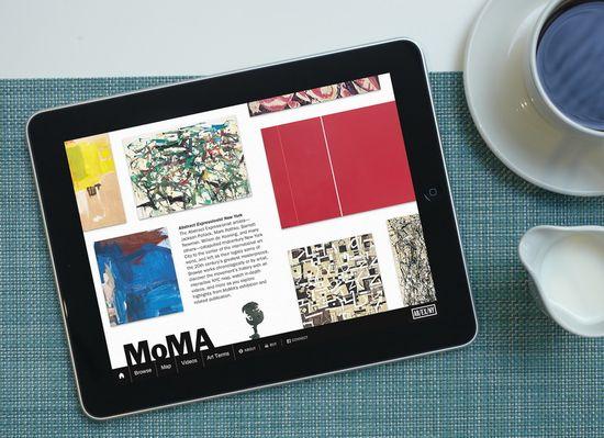 Aplicacion para iPad de MoMA