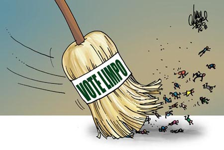 Charge sobre ficha limpia