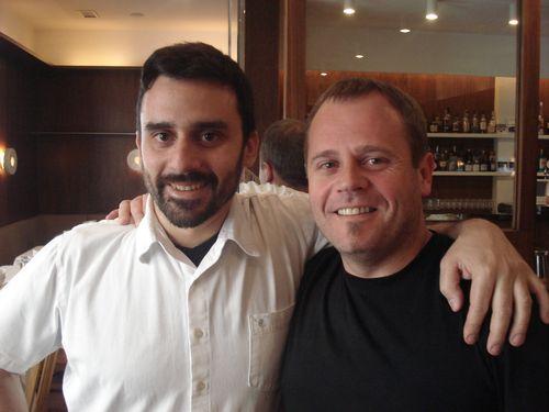 Estanis Carenzo y su socio Pablo Giudice