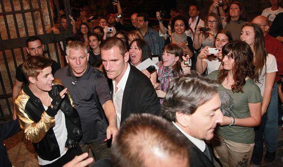 Justin Bieber, el domingo frente a sus fans italianas