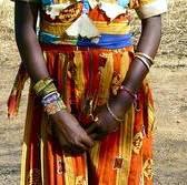 MujerDeKordofan.RegionNubaDeSudan