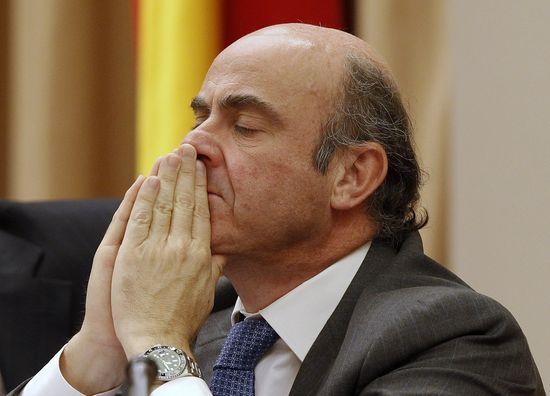 El ministro de Economía, Luis de Guindos / Foto: Reuters