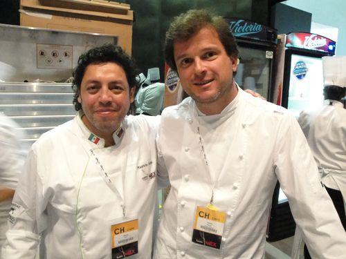 Mauricio Acuña y Francisco Bononato