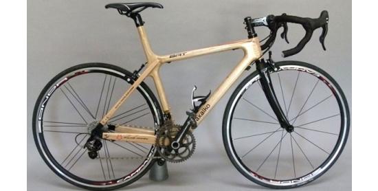 La nueva bicicleta de madera