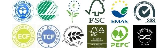 El lío de sellos ambientales para una simple hoja de papel ...