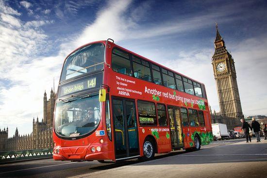 Autobús híbrido Volvo B5L