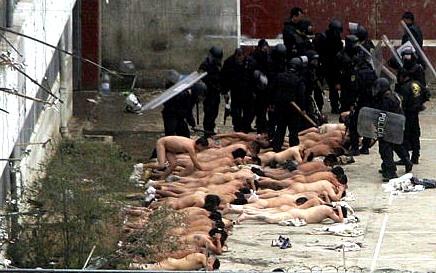 RepresionMotinCarcelMexico
