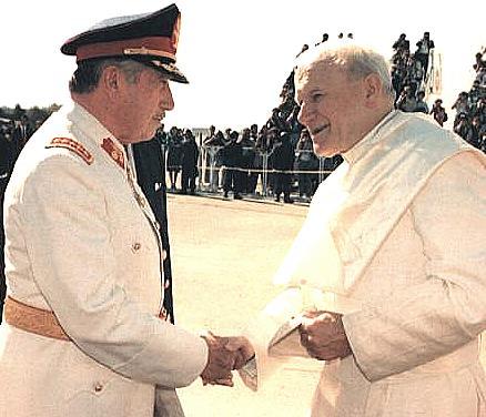 CHILE, Pinochet y el papa_OK