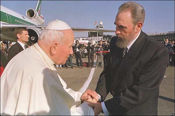 El papa y el comunista