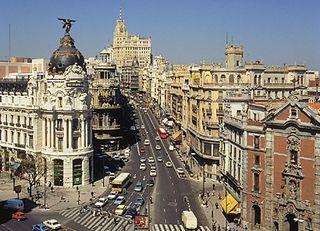 Gran-Via-Madrid desde el Hotel Arosa. Foto: Hotel Arosa