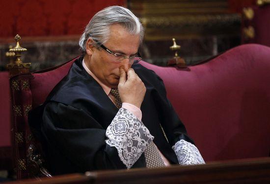 Garzón in court
