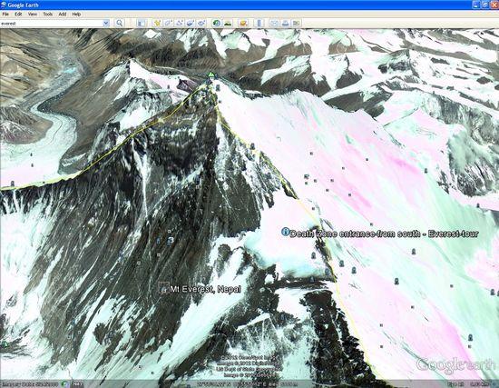 Everest google earth