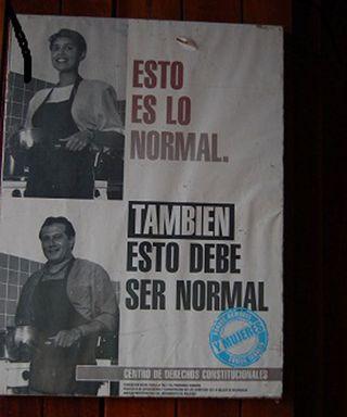 Cartel de una campaña por la igualdad en Nicaragua. MÓNICA HERNÁNDEZ