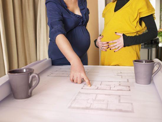 Trabajadoras embarazadas. Getty Images/Cultura RF Aurelie and Morgan David de Lossy.