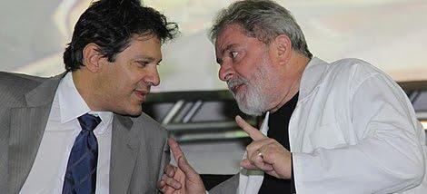 Lula y haddad