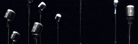 Microphones obra de Rafale Lozano-Hemmer