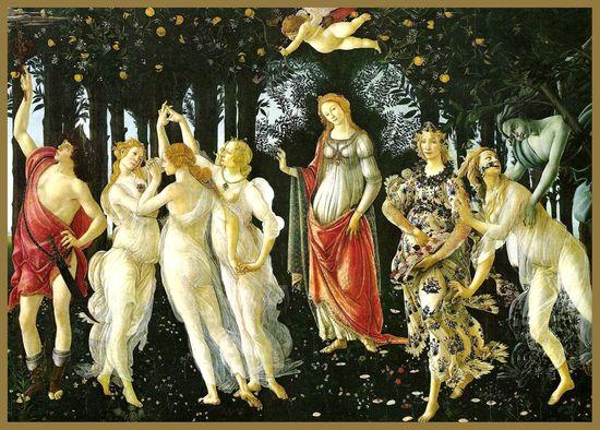 564 1 La Primavera-Botticelli