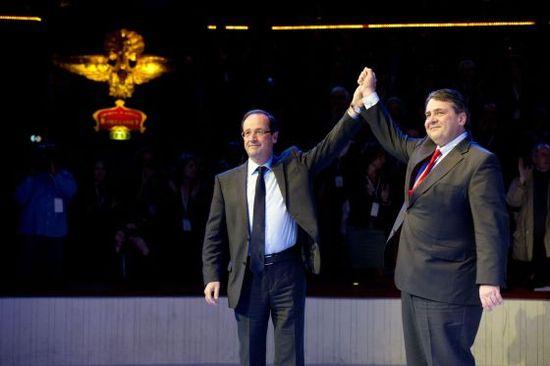 Foto post Hollande