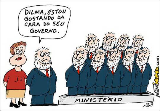 Viñeta de Lula y Dilma
