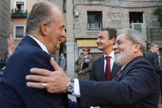 El Rey Juan Carlos y Lula