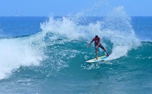 Praia de Itauna en saquarema donde se hacen las competiciones mundiales de surf